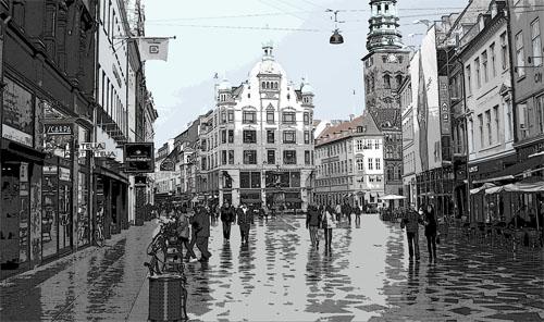 gratis museer København city fliser